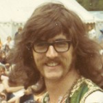 Me at Cambridge Folk Festival 1971